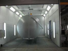 povrchová uprava kovu a lakováni cisterny